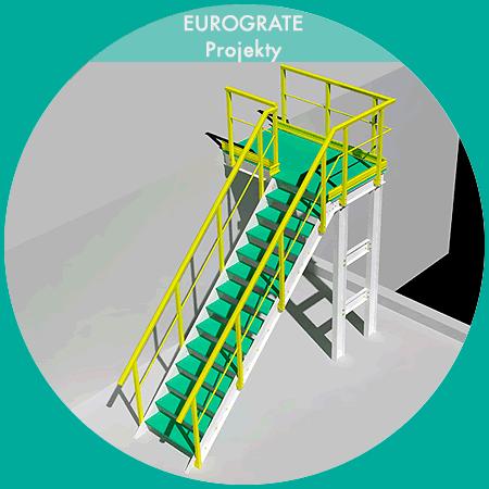 3D teknisk design af faste stiger