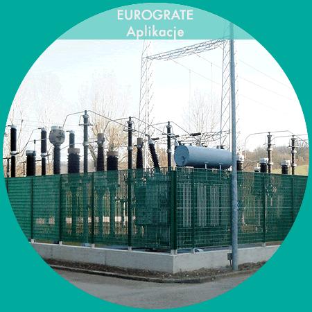Industri hegn til sikring på kraftværker