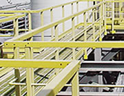 GRP safety handrails