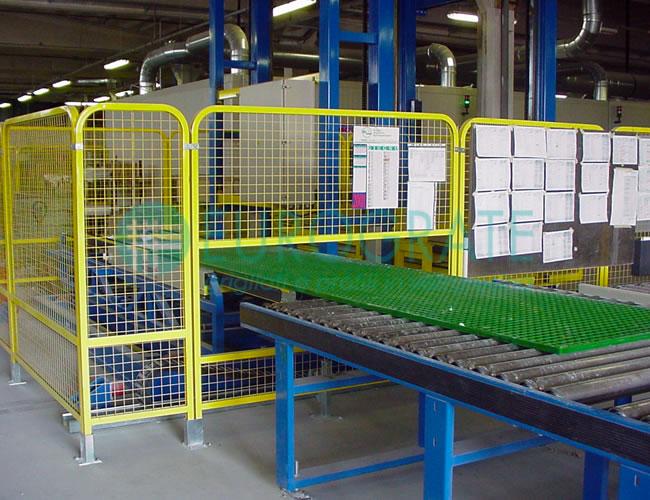 kontrola jakości przy produkcji poręczy bezpieczeństwa