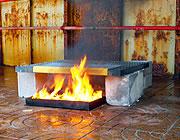 Kraty przetestowane pod kątem odporności na ogień