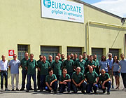 Eurograte Head Office: fibreglass gratings, profiles, handrails, ladders and fencing